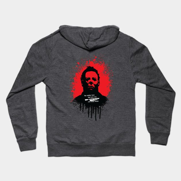 Halloween hoodie by fimbis     Michael Myers, horror, art, scary movies, illustration, blood, movie poster, dark, hoody, winter fashion, apparel,