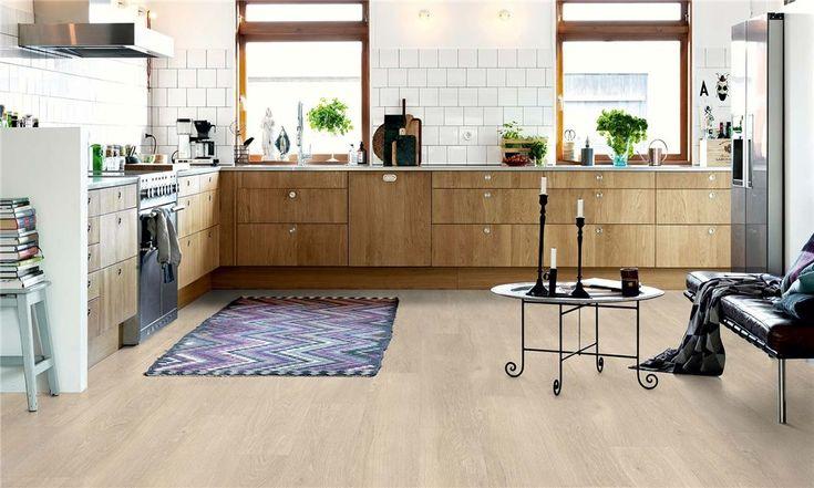 V2131-40080 Pergo Vinyl Landhausdiele Premium Klick Eiche beige verwaschen