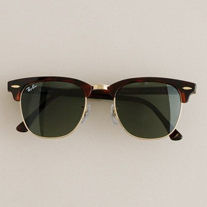 Ray-Ban® Clubmaster® sunglasses: Ray Bans, Men Clothing, Ray Ban Outlets, Men Fashion, Oakley Sunglasses, Ray Ban Sunglasses, Rayban Clubmast, Ray Ban Clubmast, Clubmast Sunglasses