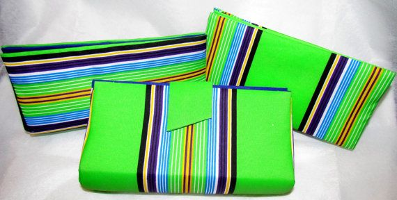 Lime Green Clutch Purse Bridesmaids Clutches by ICreationsBoutique
