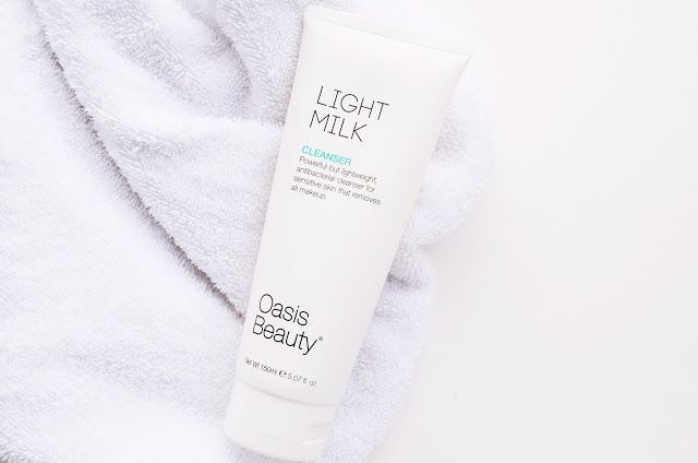 Oasis Beauty's Light Milk Cleanser, light and perfect for oily and combination skin!