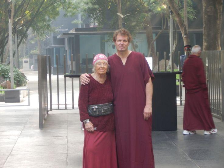 Sensei Bodhihanna & Sifu Terry Hodgkinson Read Terry Hodgkinson's blog article on Sensei Bodhihanna, the modern woman warrior. Article link here: http://innerouteryou.com/blog/meeting-my-friend-sensei-bodhihanna-a-modern-day-woman-warrior-in-the-art-of-zen-archery/