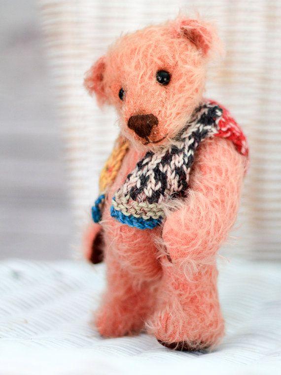 OLIVIA bear  OOAK Teddy Bear  Artist teddy by TeacupTeddyBears