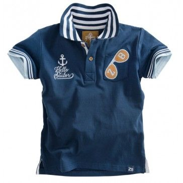 Z8 baby - Polo Isaac blauw