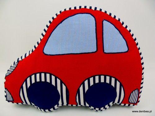 Zabawka Samochód Granatowo-Czerwony