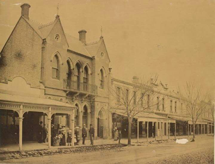 Nelson Place,Williamstown, Victoria in 1870.