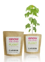 Grow Me and Help Save the Planet - plant this easy to grow silver birch tree grow bag