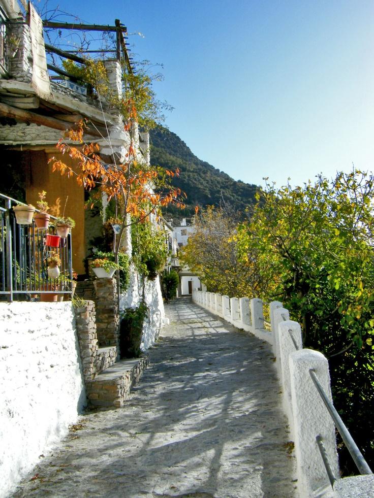 Pampaneira, pueblo de la Alpujarra granadina. (vía flickr)