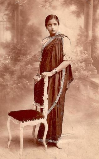 old photography indian woman