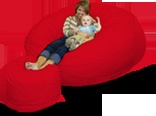 I want a bean bag chair! :0)