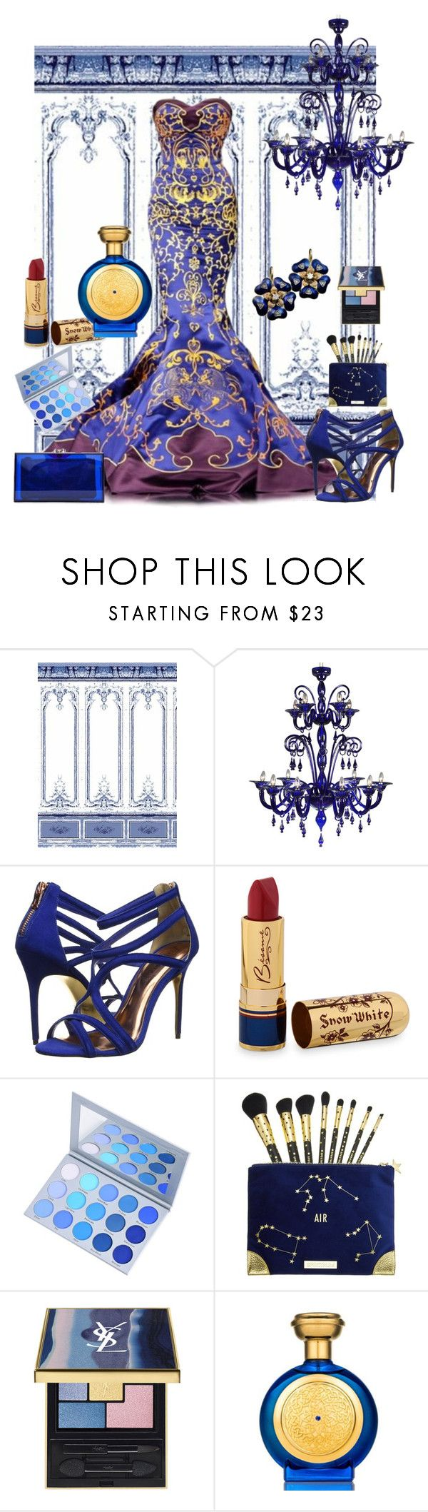"""""""The Royal Gala"""" by rosalindmarshall ❤ liked on Polyvore featuring Royal Delft, Ted Baker, Bésame and Boadicea the Victorious"""