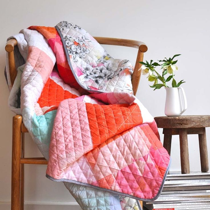 Mia Double Sided Quilt - www.squeakdesign.com