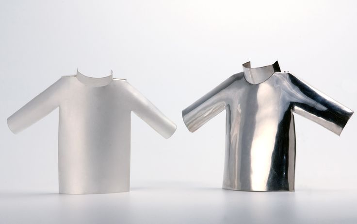 Margherita de Martino Norante (Italy), Brooches: Keep quiet, 2009; silver