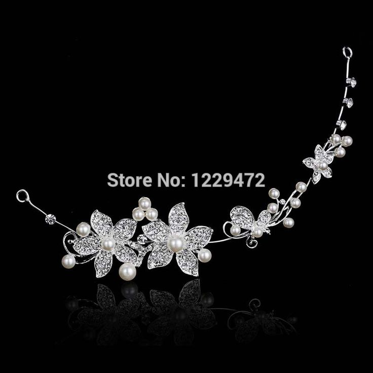 2014 Fashion Design Flower Crystal Pearl Bride 3pcs Set Necklace Earrings Tiara Bridal Wedding Jewelry Set Accessories For Women