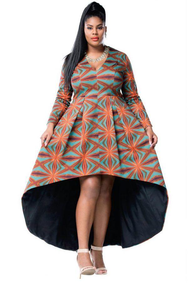 Plus size afrocentric dresses