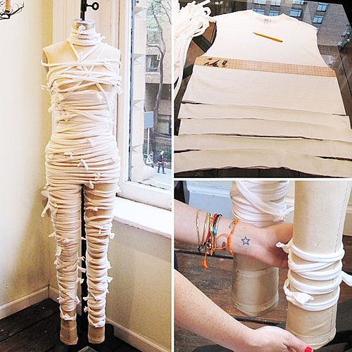 Awesome DIY mummy costume!!