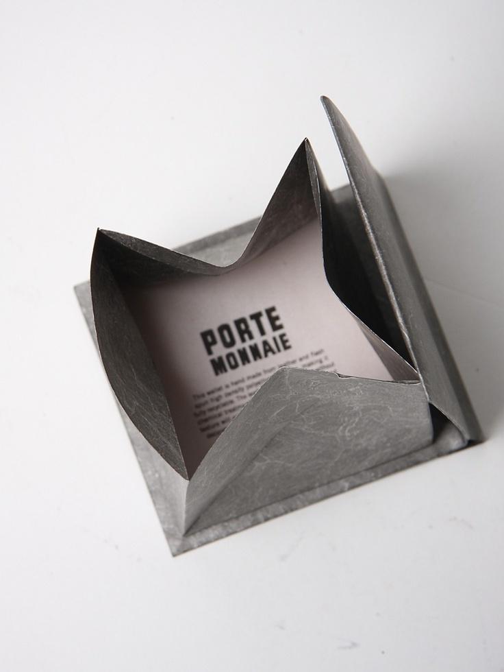 Porte Monnaie origami