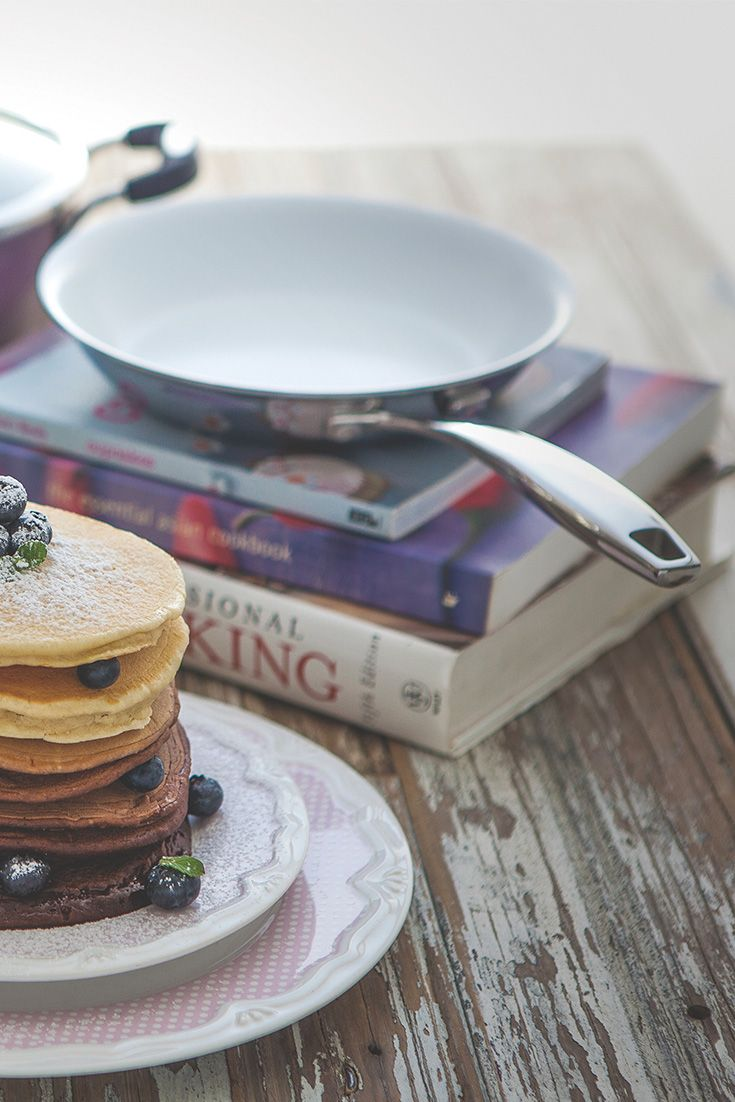 The Tramontina Trix frying pan, perfect for making pancakes. YUM!  see more products at www.tramontina.com.au