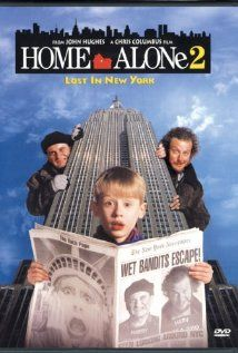 "Home Alone 2: Lost in New York ~ ""One year after Kevin was left home alone and had to defeat a pair of bumbling burglars, he accidentally finds himself in New York City, and the same criminals are not far behind."""