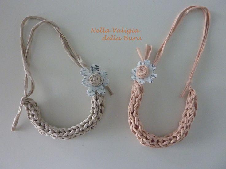 Ricordate.... ieri abbiamo visto queste collane: Dal momento che sono piaciute, ho pensato che forse avreste gradito il TUTORIAL DELLA ...
