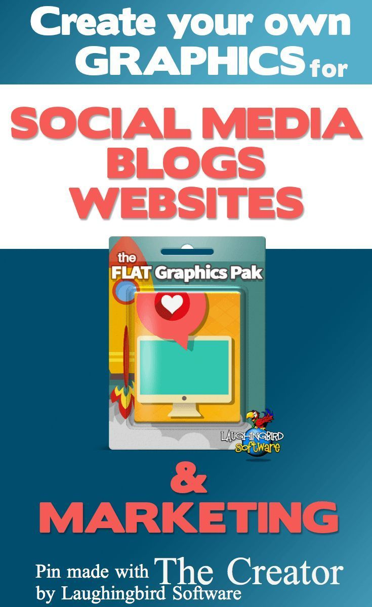 Create your own graphics for social media, websites, blogs and marketing. Save time and money by doing it yourself. No graphic design experience needed!