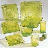 Found it at Wayfair - Zeus Lime Green Dinnerware Collection
