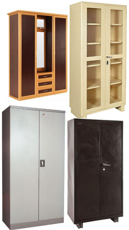 Office almirah-----Manufacturer and vendor:Hatil, Brothers furniture,otobi Size: 906(l)x400(w)x750(h)mm ,403(l)x467(w)x646(h) Material: laminated board ,wood,steel,  Unit cost:5000-8000TK
