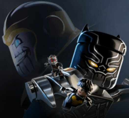 Lego Thanos, Black Panther,  Ant-Man ... °°