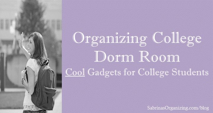 Great Dorm Room Gadgets for any college student.