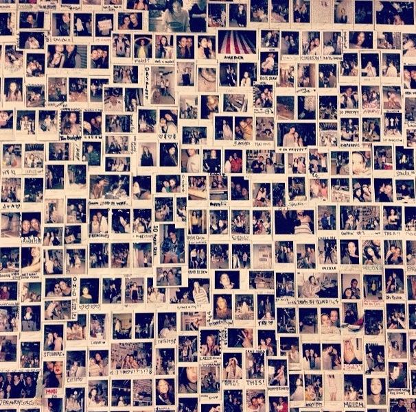 Wall Photos přes 25 nejlepších nápadů na téma polaroid wall na pinterestu