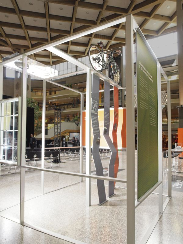 Association Aluminum Of Canada Exhibition Booth By Trafic Design In Montreal