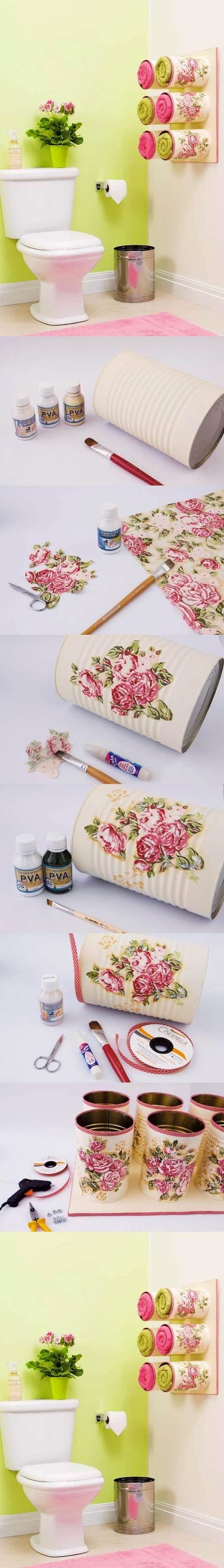 DIY Beautiful Towel Box 2