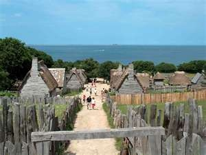 of plymouth plantation and la relacion compare View notes - of plymouth plantation from english 2242 at spearfish high school - 01 of plymouth plantation - section their safe arrival at cape la relacion spearfish high school - 01.