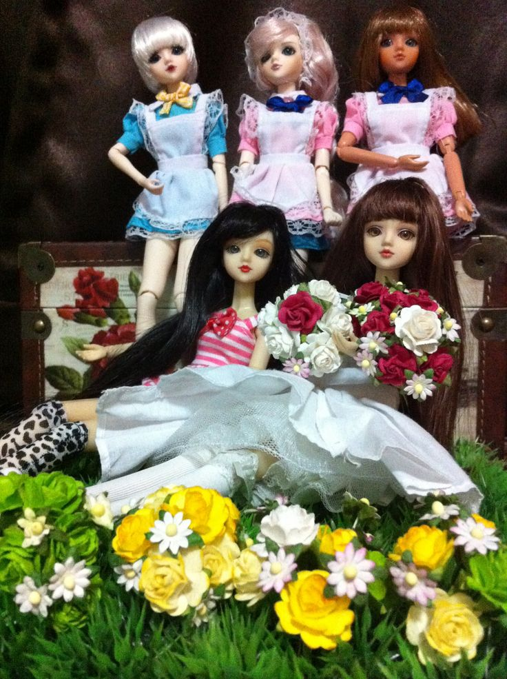 My jdoll collection