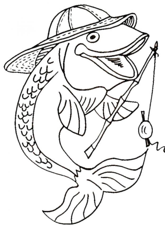 Fish Coloring Pages Fish Coloring Page Coloring Pages Coloring Pages For Kids