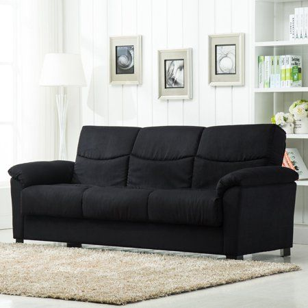 Black Sofa Beds For Sale How To Replace Cushions Cheap Free Shipping Buy Roundhill Furniture Urban Fabric Storage Bed At Walmart Com