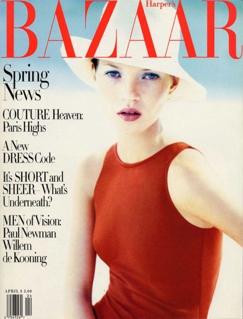 Cover girl: Kate Moss's BAZAAR covers