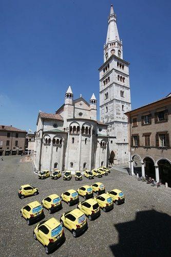 Arriva a Modena Sharengo il servizio di car sharing elettrico