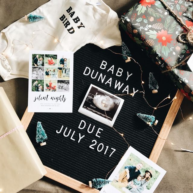 Best 25 Holiday pregnancy announcement ideas – Ultrasound Baby Announcements