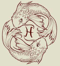 tatuaje signo piscis - Buscar con Google