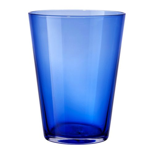IKEA - DIOD, Glass, Each glass has been mouthblown by a skilled craftsman.Can be stacked inside one another to save space in your cabinets when not in use.The glass has a simple, tall and straight shape which makes it perfect for all types of cold drinks, such as carbonated cocktails with a lot of ice.