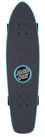Check out the deal on 7.4in x 29.1in PFM Skeleton Jammer Blue Santa Cruz Cruiser Skateboard at NHS Fun Factory