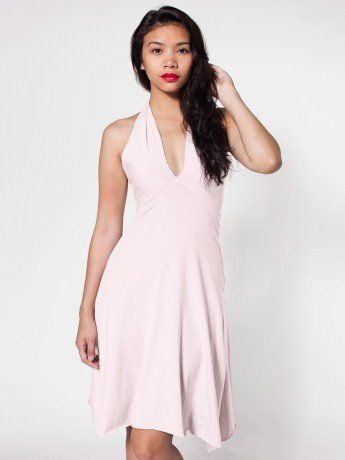 Loveeee.: Cotton Spandex, American Apparel, Cut On The Bia Dresses, Woman Dresses, Spandex Jersey, Bandeaus, Jersey Bandeau, Bandeau Dresses, Apparel Cotton