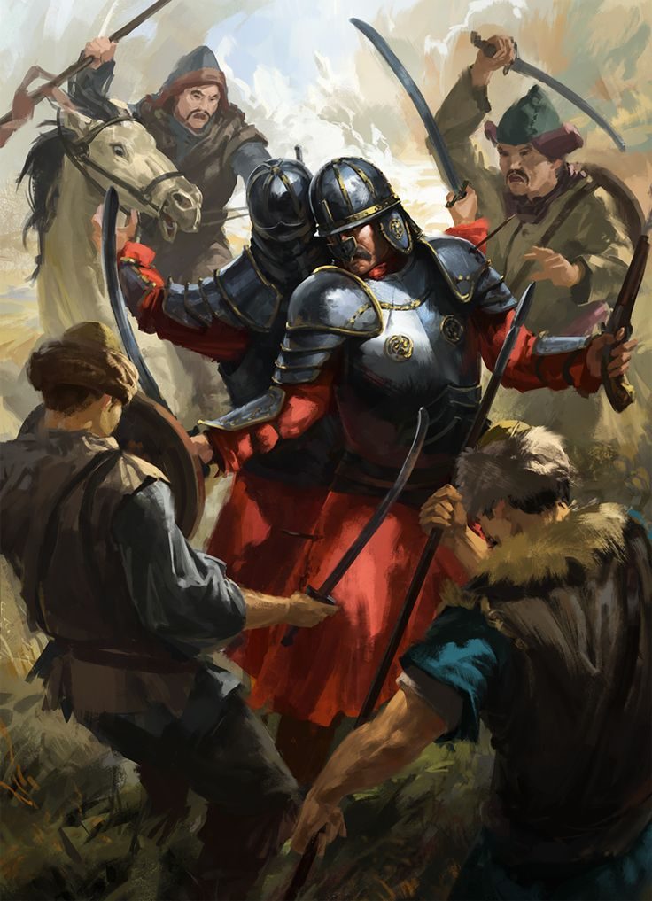 Last stand of the Polish Hussars, Mongol invasion of Poland