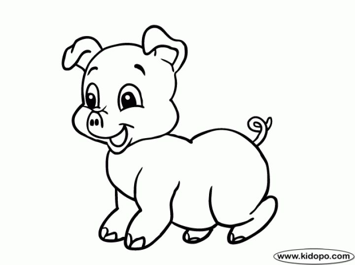 20 Free Printable Pig Coloring Pages Everfreecoloring Com Hello Kitty Colouring Pages Super Coloring Pages Coloring Pages