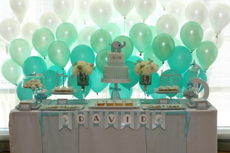 Baptism / Elephant Party /dessert table