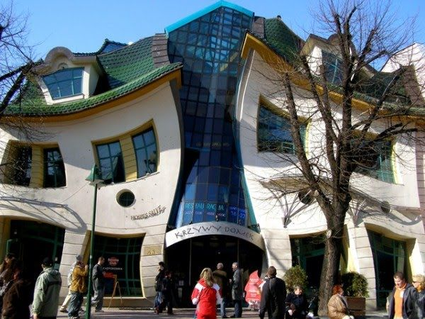 Crooked House in PolandReal Life, Buildings, Krzywi Domek, Places, Architecture, Design, Sopot, Crooks House, Poland