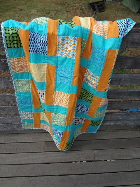 Easy to follow PDF Quilt Pattern  Baby Weave by SquidLegsFabrics, $9.50