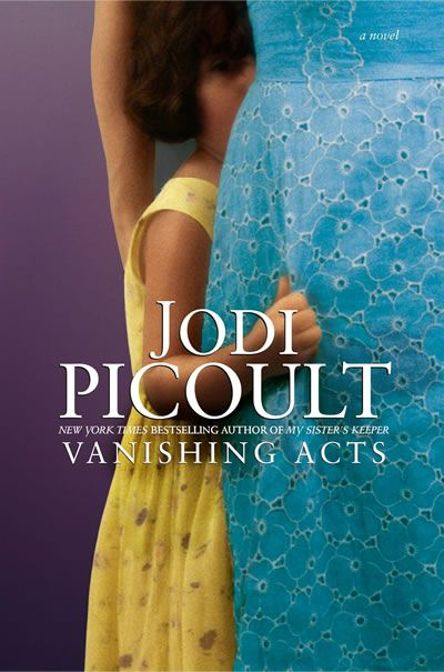 Vanishing Acts by Jodi Picoult... I am almost done reading all of her books! :)