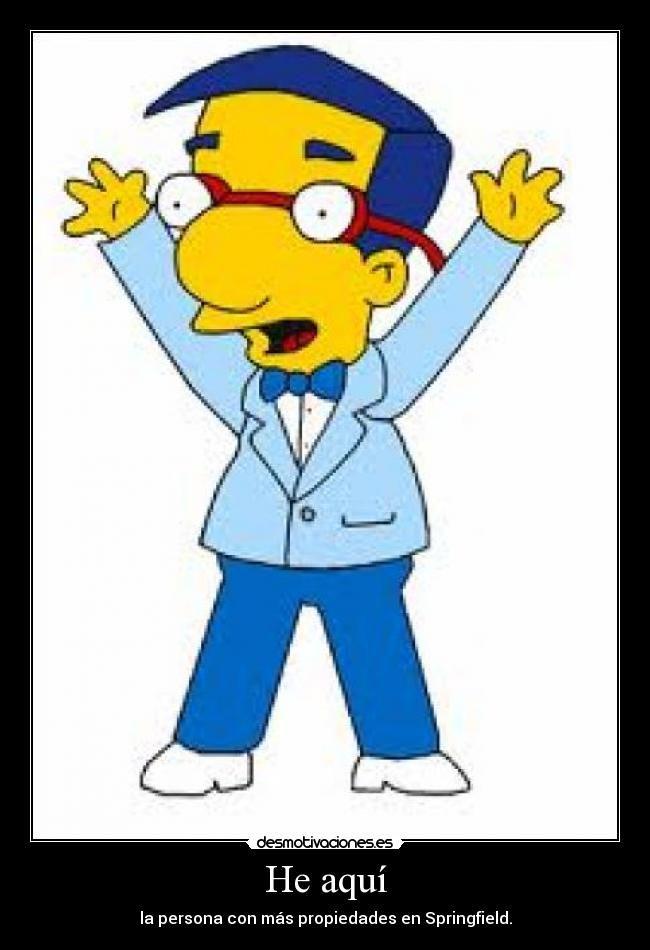 Carteles milhouse van houten mil house desmotivaciones simpsons milhouse bart simpson - Bart et milhouse ...